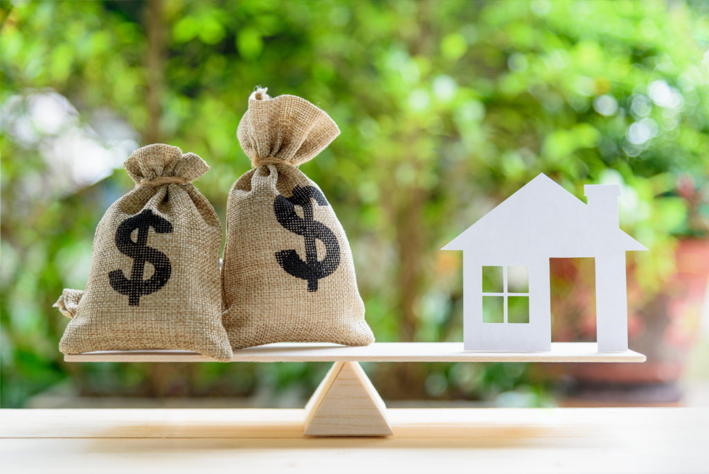 A picture of home equity.